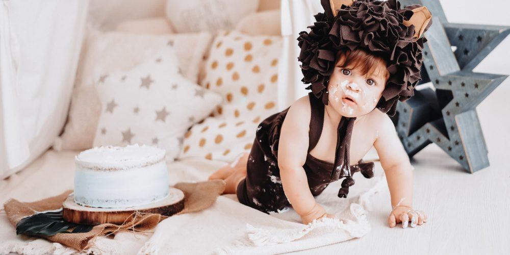 foto compleanno bambino torta