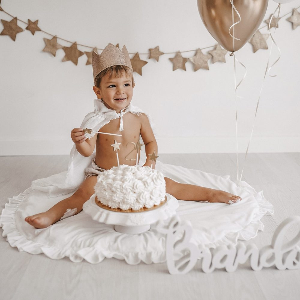 foto complenno bambino torta