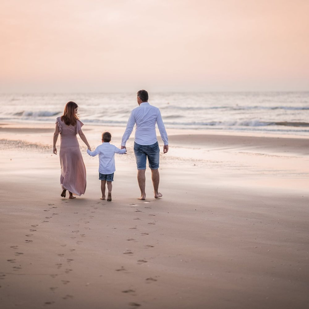 fotografo famiglia mare