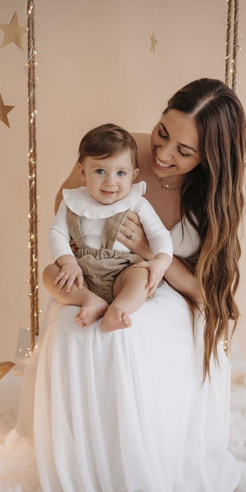 servizio fotografico bambino mamma