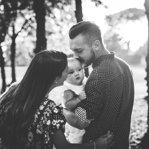 servizio fotografico famiglia esterna